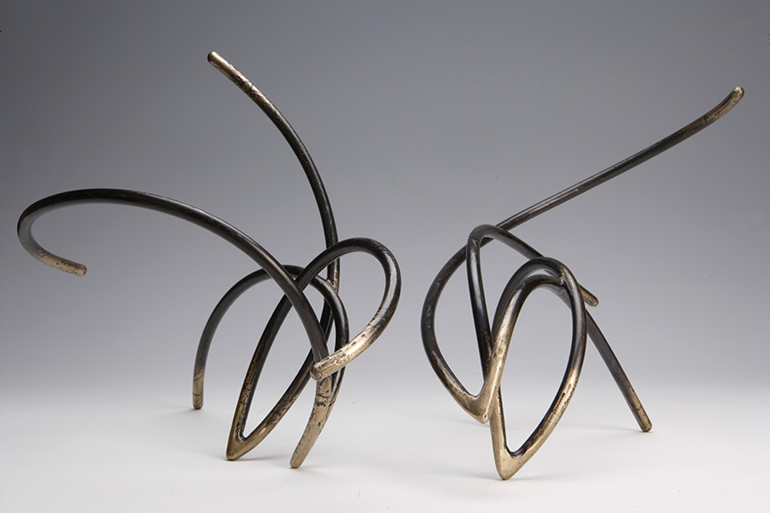 Bronze Duet #16, photograph by Geoff Carr