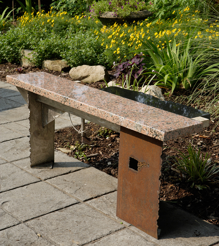 Garden Bench #8, Photo by Geoff Carr