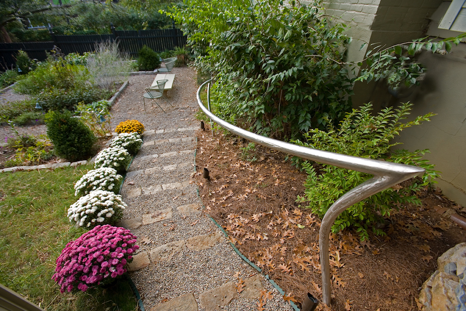 Coe handrail, Photo by Julius Friedman